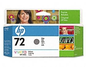 Image 1 of Hp No 72 Ink Cartridge 130ml Gray C9374a C9374A