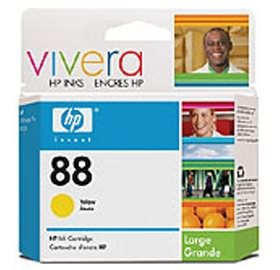 Image 1 of Hp 88xl Large Ink Cartridge Yellow C9393a C9393A