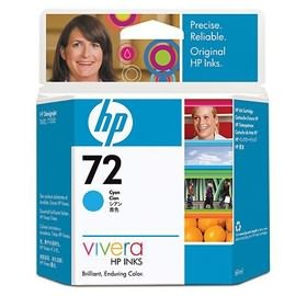Image 1 of Hp No 72 Ink Cartridge 69-ml Cyan C9398a C9398A