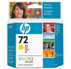 Image 1 of Hp No 72 Ink Cartridge 69-ml Yellow C9400a C9400A