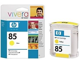 Image 1 of Hp No 85 Ink Cartridge Yellow C9427a C9427A