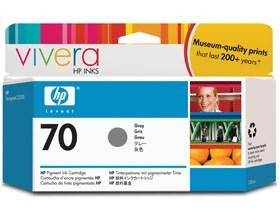 Image 1 of Hp No 70 Ink Cartridge 130 Ml Gray C9450a C9450A