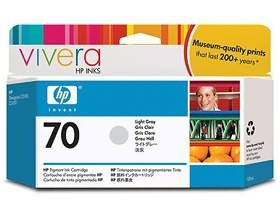Image 1 of Hp No 70 Ink Cartridge 130 Ml Light Gray C9451a C9451A
