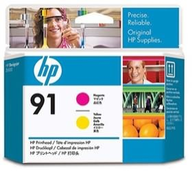 Image 1 of Hp 91 Printhead Magenta And Yellow C9461a C9461A