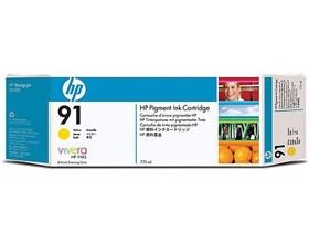 Image 1 of Hp 91 Ink Cartridge 775ml Yellow C9469a C9469A