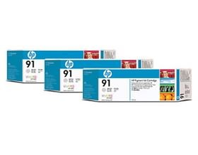 Image 1 of Hp 91, 3 Ink Multi Pack Light Gray C9482a C9482A