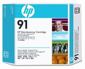 Image 1 of Hp 91 Maintenance Cartridge C9518a C9518A