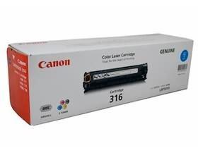 Image 1 of Canon Cart316c Cyan Toner Cart For Lbp5050n Cart316c  CART316C