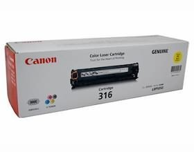 Image 1 of Canon Cart316y Yellow Toner Cart For Lbp5050n Cart316y  CART316Y