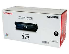 Image 1 of Canon Cart323bk Black Toner Cart For Lbp7750cdn Cart323bk CART323BK