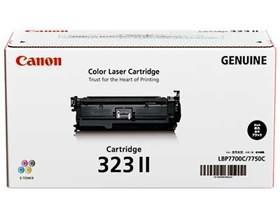 Image 1 of Canon Cart323bkii Black Toner Cart For Lbp7750cdnhigh Yield Cart323bkii CART323BKII
