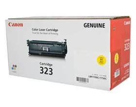 Image 1 of Canon Cart323y Yellow Toner Cart For Lbp7750cdn Cart323y CART323Y
