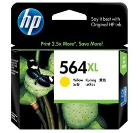 Image 1 of Hp Cb325wa Hp 564xl Yellow Ink Cartridge 81255 CB325WA