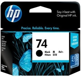 Image 1 of Hp Cb335wa Hp 74 Black Ink Cartridge CB335WA