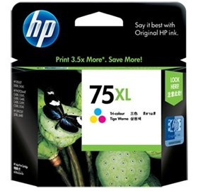 Image 1 of HP 75XL Large Ink Cartridge Tri-color CB338WA