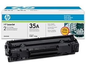 Image 1 of Hp Laserjet P1005/ 1006 Dual Pack Toner Cartridge Cb435ad CB435AD