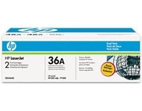 Image 1 of Hp Cb436ad Laserjet P1505 Dual Pack Toner Cartridge Cb436ad CB436AD