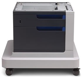 Image 1 of Hp 1x500-sheet Paper Feeder And Cabinet Provides 500 Sheet Input Capacity. Cp4025 & Cp4525 Series CC422A