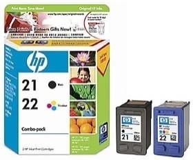 Image 1 of HP CC630AA HP 21/ 22 INKJET COMBO PACK CC630AA