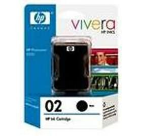 Image 1 of Hp 02 Ink Cartridge Twin Pack Black Ce015aa CE015AA