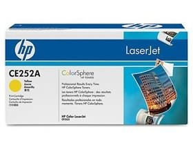 Image 1 of Hp Yellow Cartridge For Cp3520 Ce252a CE252A