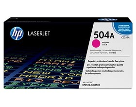 Image 1 of Hp Magenta Cartridge For Cp3520 Ce253a CE253A