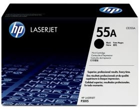Image 1 of Hp Ce255a Toner Cartridge Black Ce255a CE255A
