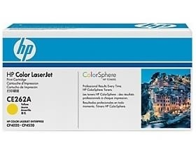 Image 1 of Hp Ce262a Toner Cartridge Yellow Ce262a CE262A