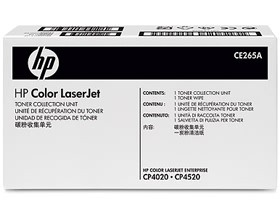 Image 1 of Hp Color Laserjet Cp4025/ 4525 Toner Collection Unit. Capacity Approx 35000 Pages Ce265a CE265A