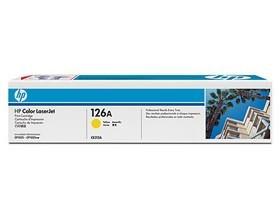 Image 1 of Hp Ce312a 126a Yellow Laserjet Print Cp1025 Cartridge CE312A