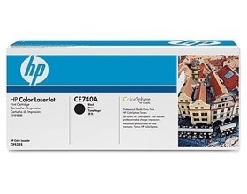 Image 1 of Hp Ce740a Toner Cartridge Black Ce740a CE740A
