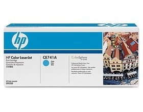 Image 1 of Hp Ce741a Toner Cartridge Cyan Ce741a CE741A