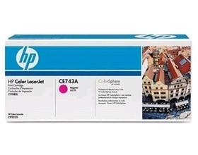 Image 1 of Hp Ce743a Toner Cartridge Magenta Ce743a CE743A