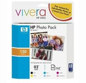 Image 1 of Hp 02 Photo Value Pack Advance Cg849aa CG849AA