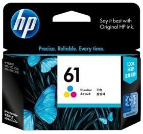 Image 1 of HP CH562WA HP 61 Tri-Color Inkjet Print Cartridge CH562WA