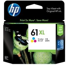 Image 1 of Hp Ch564wa Hp 61xl Tri-color Inkjet Print Cartridge CH564WA