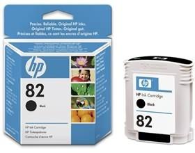 Image 1 of Hp No 82, 69-ml Ink Cartridge Black Ch565a CH565A