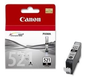 Image 1 of Canon Blk Ink Cart For Ip4600 Cli521bk Cli521bk CLI521BK