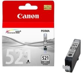 Image 1 of Canon Cli521gy Grey Ink Tank Mp980 990 Cli521gy CLI521GY