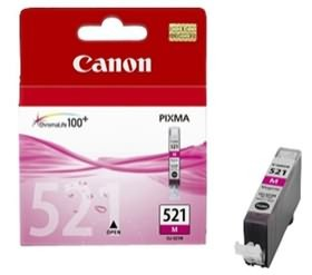 Image 1 of Canon Magenta Ink Cart For Ip4600 Cli521m Cli521m CLI521M
