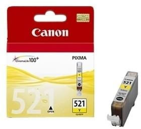Image 1 of Canon Yllw Ink Cart For Ip4600 Cli521y Cli521y CLI521Y