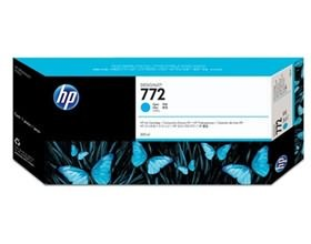 Image 1 of Hp 772 300ml Dj Ink Cartridge Cyan Cn636a CN636A
