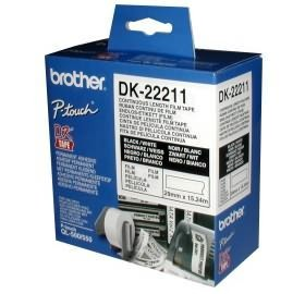 Image 1 of Brother Dk22211 White Continuous Film Roll 29mm X 15.24m DK-22211