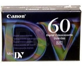 Image 1 of Canon Dvme60 Video Cassette (60 Minutes) Dvme60 DVME60