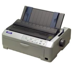 Image 1 of Epson Fx-890 Dotmatrix, 9pin, 80columns, 128kb, 680cps At 12cpi, Ppt/ Usb1.1 C11C524041