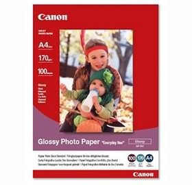Image 1 of Canon Gp5014x6-100 100 Sheets, 170 Gsm Glossy Photo Paper Gp5014x6-100 GP5014X6-100