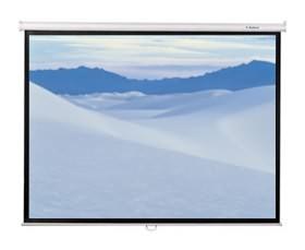 "Image 1 of Redleaf 75"" Manual Ht Screen, 1140 X 1530, 4:3 Video Format, Matt White Surface"