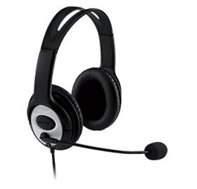 Image 1 of Microsoft Lifechat Lx-3000 Headset Windows Usb Noise Cancelling Mic Black (retail) Jug-00017 JUG-00017