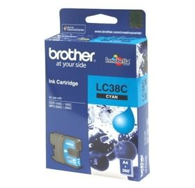 Image 1 of Brother Lc38c Cyan Ink Cartridge For Dcp-145c/ 165c LC-38C
