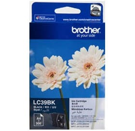 Image 1 of Brother Lc39c Blk Ink Lc39bk For Dcp-j125/ J315w/ J515w, Mfc-j220/ J265w/ J410 LC-39C
